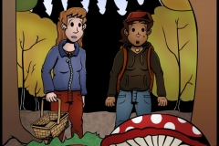 Easy to Read - 'Shroom huntin'